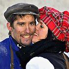 The  Kiss by Elzbieta Fazel