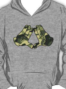 Mickey Mouse Diamond Hands Camo T-Shirt
