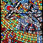 Stained Glass Window SS Vitus Cathedral Prague by Christine Till  @    CT-Graphics
