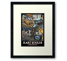 Kart Souls II Framed Print