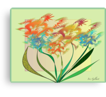 Garden wonder Canvas Print