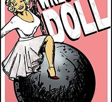 Wrecking Doll (pink) by waynedidit