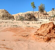 The Walls of China, Lake Mungo National Park, NSW by Adrian Paul