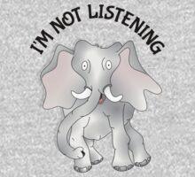 Elephant | I'm not listening Kids Clothes