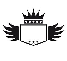 Wings Crown King banner by Style-O-Mat