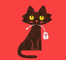 Hungry Hungry Cat by Budi Satria Kwan