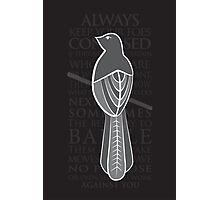 Baelish Sigil - Quote Photographic Print