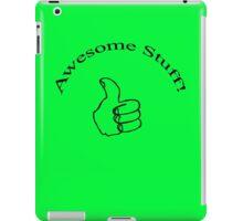Awesome Stuff! iPad Case/Skin