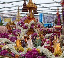 Thailand display at the RHS Chelsea Flower Show by Keith Larby