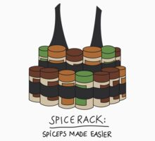 Spice Rack: Spiceps Made Easier by RumShirt