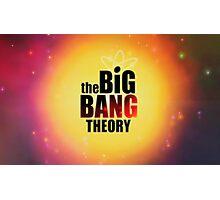Big bang theory serie Photographic Print