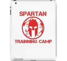 SPARTAN TRAINNING CAMP iPad Case/Skin