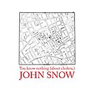 "Ipad Case: ""You know nothing (about cholera), John Snow"" by Alberto Cairo"
