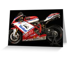 Ducati - World Superbike Champions - Carlos Checa Greeting Card