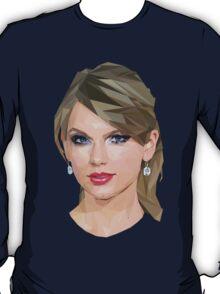 Taylor Swift - LowPoly Portrait T-Shirt