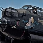 Lancaster Bomber 'Just Jane' by Chris Tait