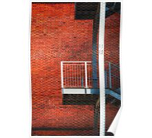 Fire escape Poster
