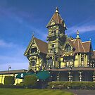 Historic Carson Mansion, Eureka, California by Barbara  Brown
