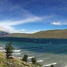 Lago Azul, Torres del Paine National Park, Chile by Matt Emrich