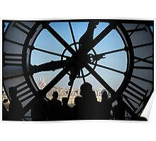 Window Clock Poster