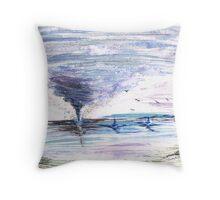Sea Twister Throw Pillow