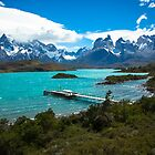 Salto Chico, Patagonia, Chile, Torres del Paine by Matt Emrich
