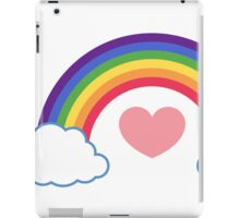 80's Heart & Rainbow iPad Case/Skin