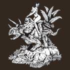 DinoGirl by ZugArt