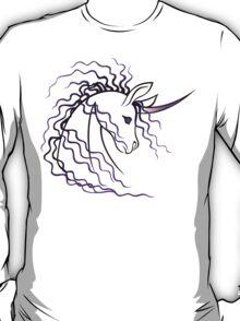 Ki-Rin (Japanese Unicorn) - Purple T-Shirt
