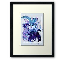 The 1975 Mess Framed Print