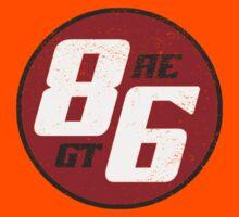 86 - AE or GT?   (dark print) Kids Clothes