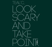 Look Scary and Take Point 2 White by CaelisMiran