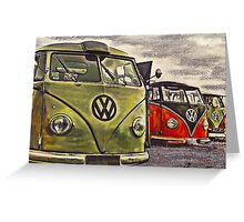 Rust N Shine Greeting Card