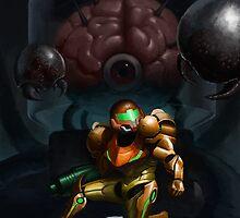 Metroid - Alt version by Alcoz
