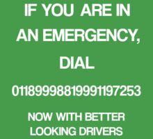 IT CROWD emergency number by EversonInd