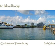 Magnetic Island barge by Paul Gilbert