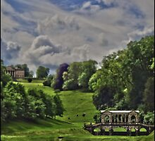 Prior Park, Bath, in miniature by Tim Constable by Tim Constable