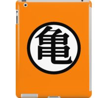 Goku Symbol White (Front) iPad Case/Skin