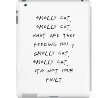 Smelly cat iPad Case/Skin