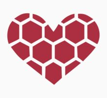 Red Handball heart Kids Clothes