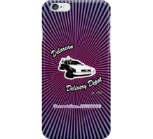 Delorean Delivery Depot iPhone Case/Skin