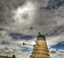 Straw Dalek by Mikhail31