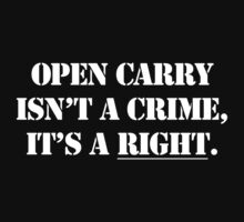 Open Carry isn't a Crime by That T-Shirt Guy