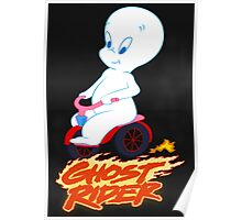 The Friendly Ghost Rider Poster