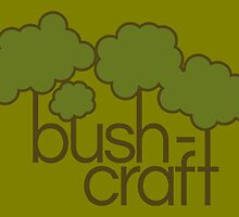 Green trees, bush craft by piedaydesigns