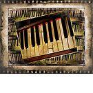 Vintage Piano by suzannem73