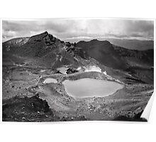 Volcanic Monochrome Zone Poster