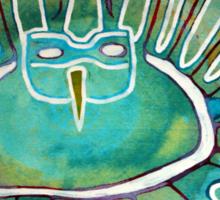 Kachina Was a Dancer original painting Sticker