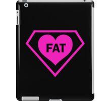 FAT HEART DIAMOND PINK iPad Case/Skin
