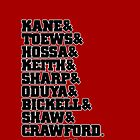 Hawks Roster Galaxy Case by tony.Hustle.tees ®